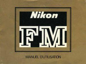 MODE D'EMPLOI NIKON-FM